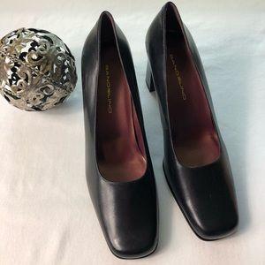 BANDOLINO Essential black leather size 8
